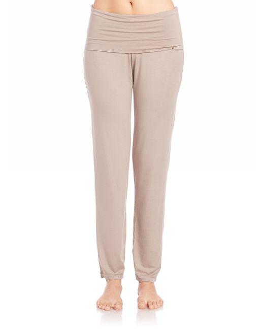 Hanro - Brown Yoga Lounge Pants - Lyst