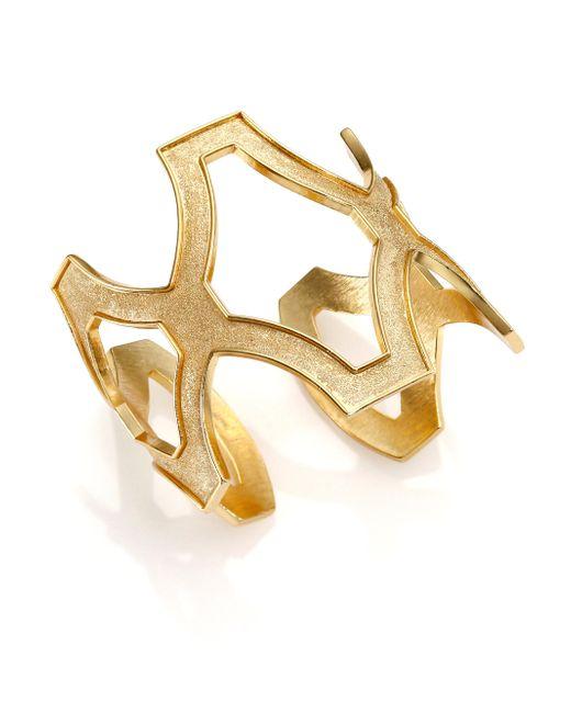 Stephanie Kantis   Metallic Heritage Cuff Bracelet   Lyst