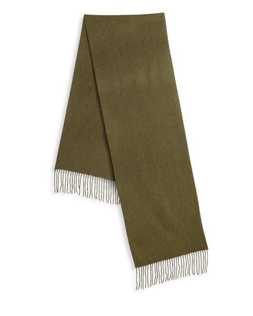 Saks Fifth Avenue - Green Collection Solid Woven Cashmere Scarf for Men - Lyst