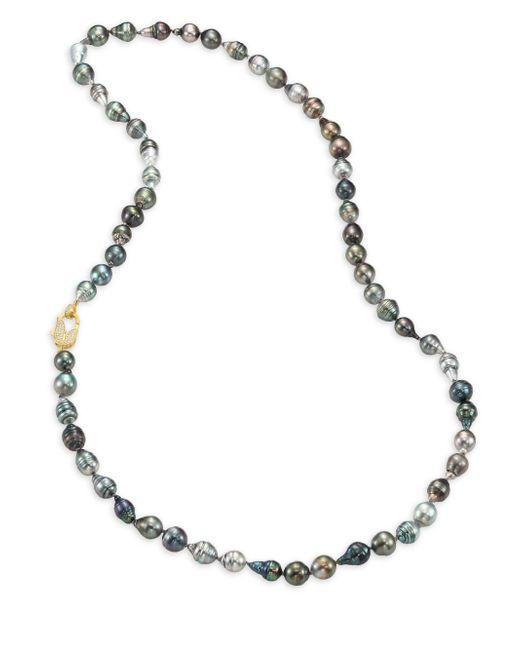 Jordan Alexander - Metallic 12mm-15mm Grey Baroque Tahitian Freshwater Pearl & Diamond Strand Necklace/36 - Lyst