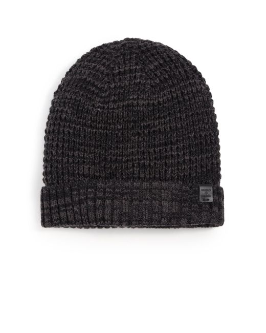 Bickley + Mitchell - Black Faux Sherpa-lined Thermal Cuff Beanie for Men - Lyst