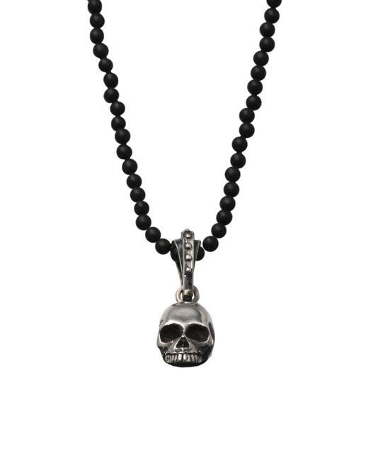 King Baby Studio   Metallic Hamlet Skull Beaded Necklace for Men   Lyst