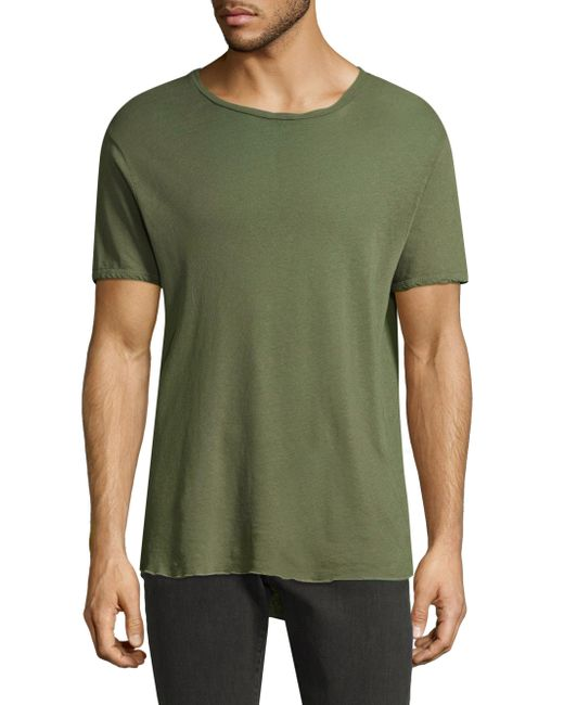 J Brand - Green Grandpa Tee for Men - Lyst