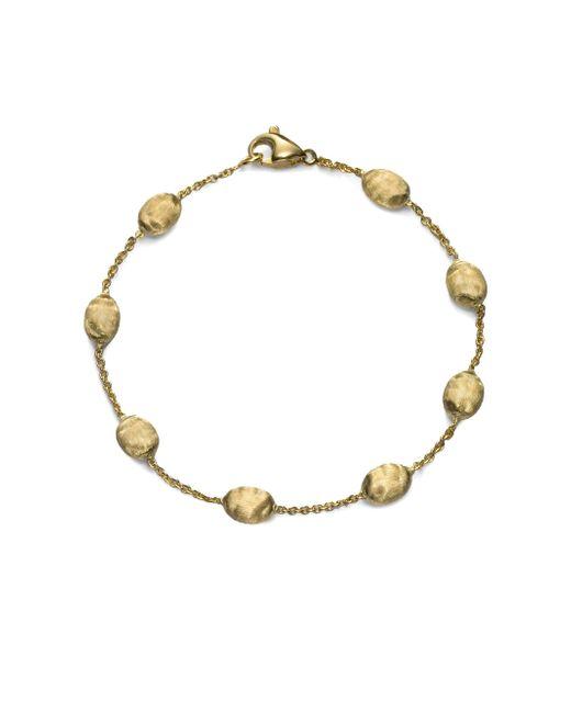 Marco Bicego - Metallic 18k Yellow Gold Bead Bracelet - Lyst