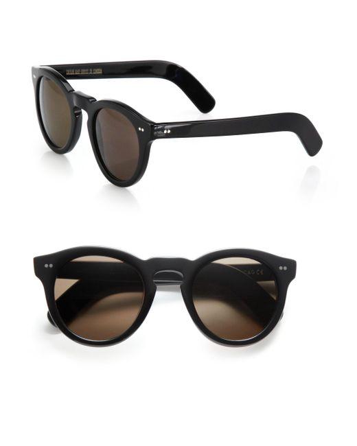 Cutler & Gross   Black Classic 51mm Round Sunglasses   Lyst
