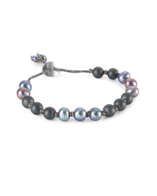 Chan Luu   Peacock Blue Mix Bracelet   Lyst