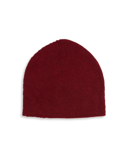 Saks Fifth Avenue | Red Round Cashmere Beanie for Men | Lyst