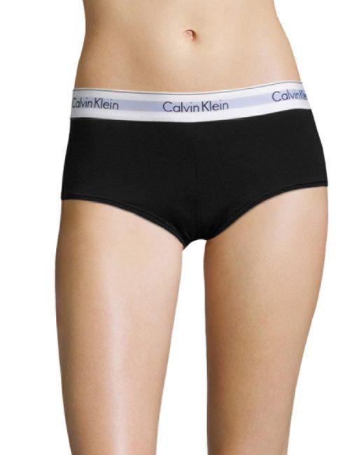 Calvin Klein - White Modern Cotton Boyshort - Lyst