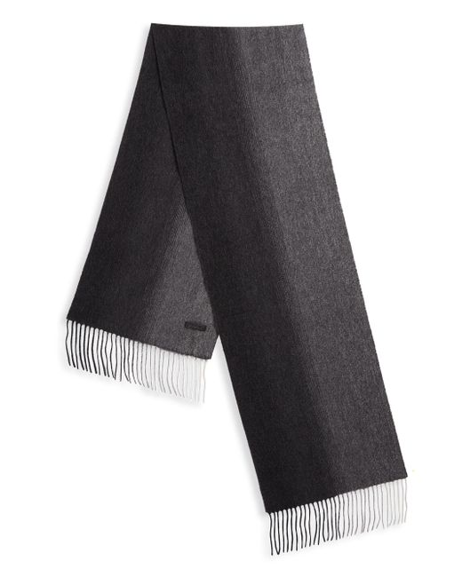 Saks Fifth Avenue - Black Cashmere Scarf for Men - Lyst