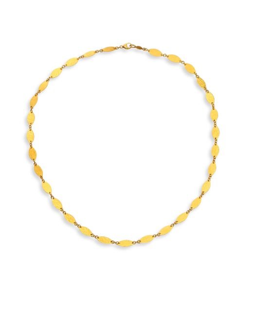 Gurhan - Metallic Willow Flake Hammered 24k Yellow Gold Necklace - Lyst