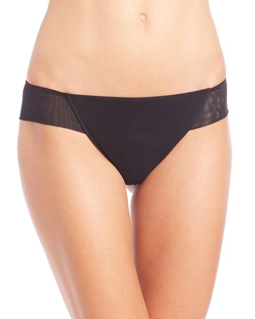 La Perla - Black Donna Brazilian Brief - Lyst
