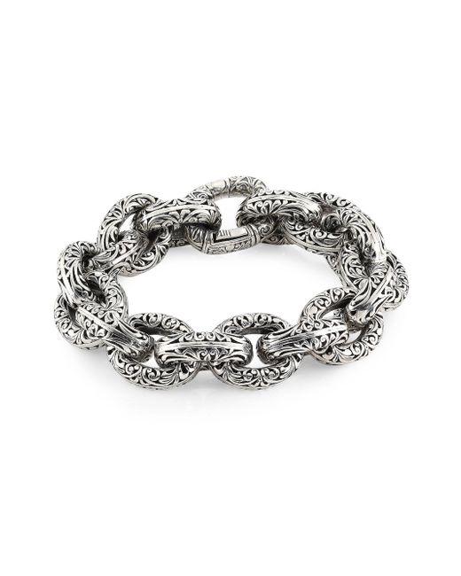 Konstantino - Metallic Women's Chunky Sterling Silver Bracelet - Silver - Lyst