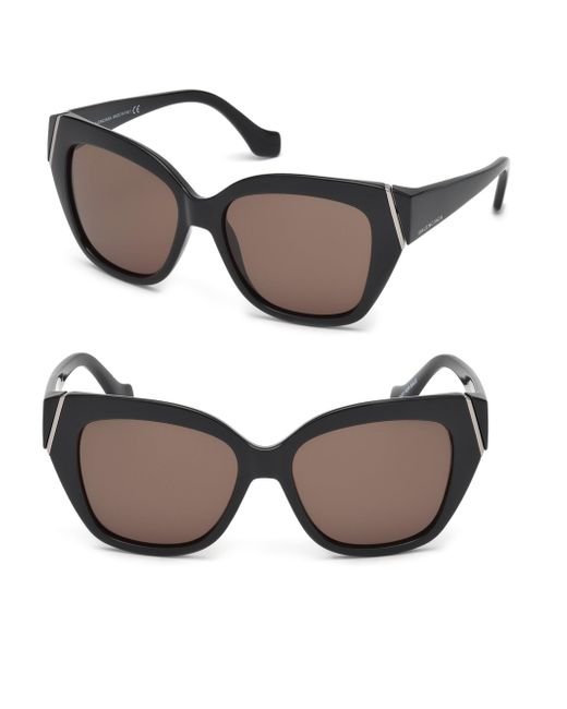 56b9ed45825d8 Balenciaga Paris Oversized Square Sunglasses