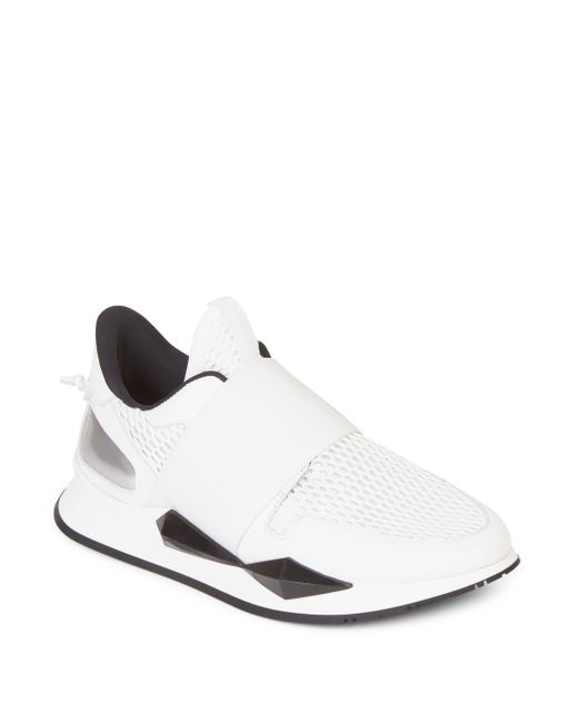 Givenchy | White Elastic Slip-on Sneakers for Men | Lyst