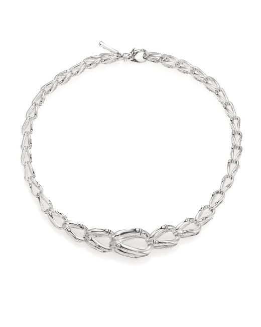 John Hardy - Metallic Bamboo Sterling Silver Chain Necklace - Lyst