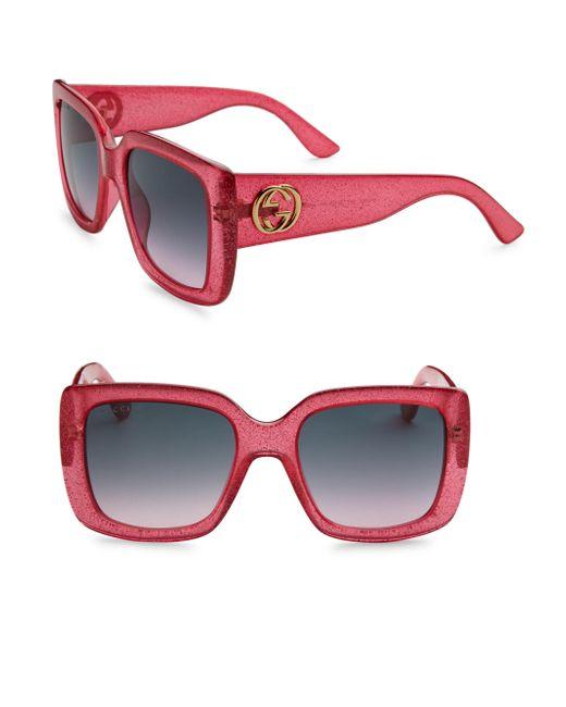 39489953ba02f Gucci 54mm Oversized Square Sunglasses