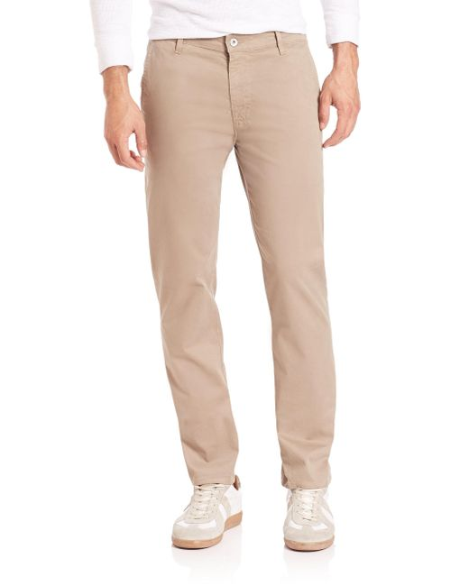 AG Jeans - Natural Lux Straight Leg Pants for Men - Lyst