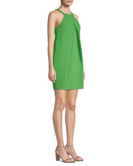 Trina Turk - Green Felisha Halter Shift Dress - Lyst