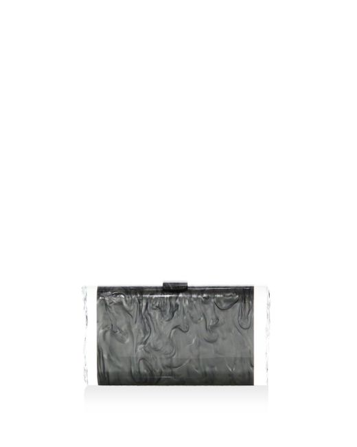 Edie Parker - Gray Lara Backlit Acrylic Clutch - Lyst