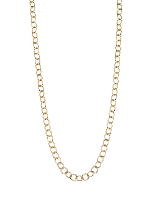 Temple St. Clair - Metallic 18k Yellow Gold Classic Oval Link Necklace Chain/18 - Lyst