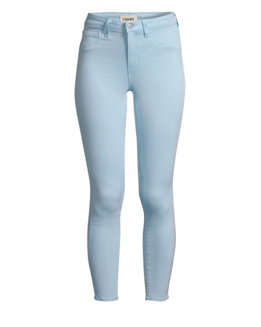8e0f9e92de84 Lyst - L Agence Margot High-rise Ankle Skinny Jeans in Blue