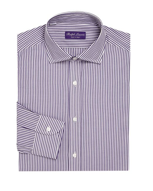 Ralph Lauren | Purple Label Regular-fit Bond Striped Dress Shirt for Men | Lyst