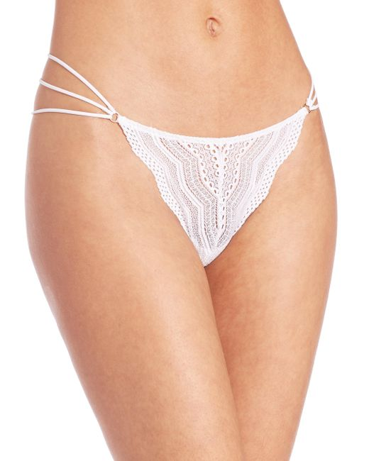 Cosabella | White Ceylon Lace Thong | Lyst