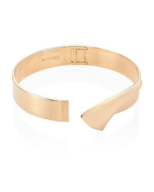 Eddie Borgo | Metallic Double Fold Collar Necklace | Lyst