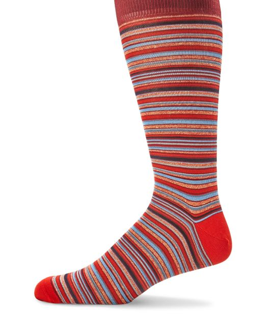 Saks Fifth Avenue - Multicolored Striped Socks for Men - Lyst