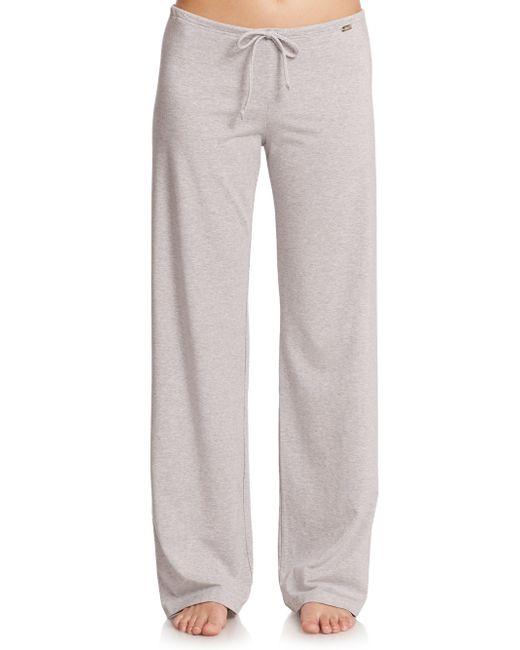La Perla - Gray New Project Drawstring Pants - Lyst
