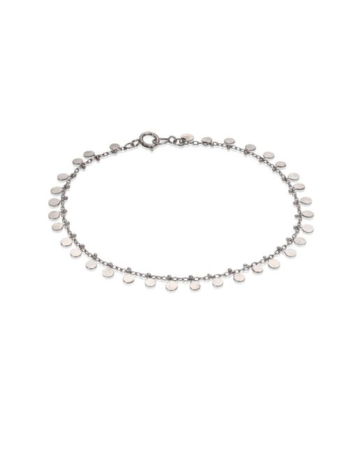 Sia Taylor - Metallic Dots Sterling Silver Bracelet - Lyst