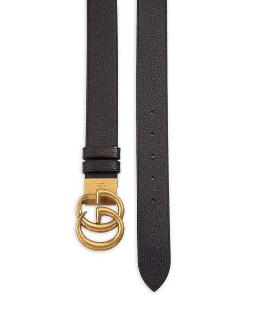 13ef77a77 ... Gucci - Multicolor Interlocking GG Reversible Leather Belt for Men -  Lyst