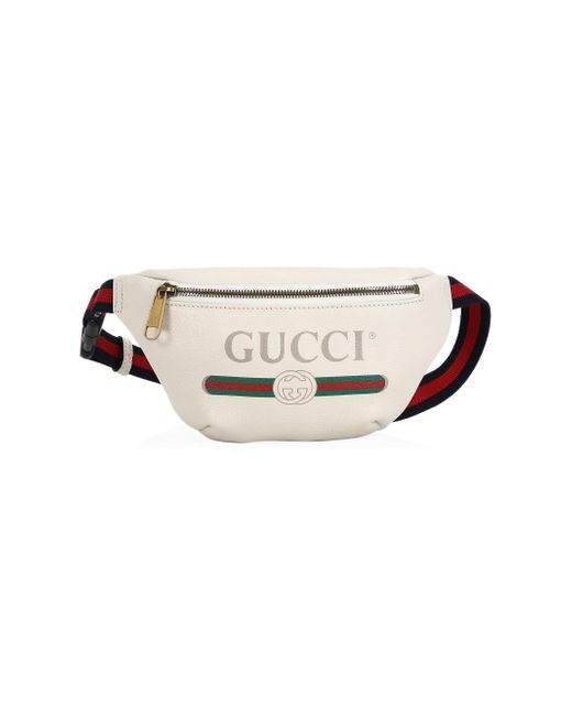 96b5677b30993 Gucci - Multicolor Print Leather Belt Bag for Men - Lyst