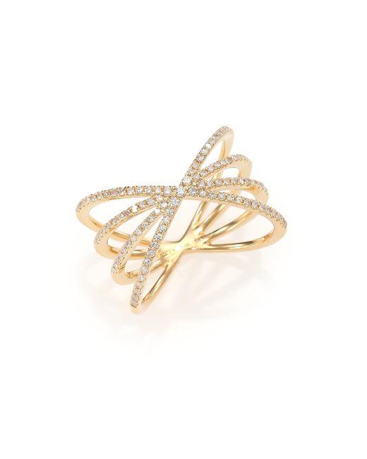 EF Collection - Metallic Starburst Ring - Lyst