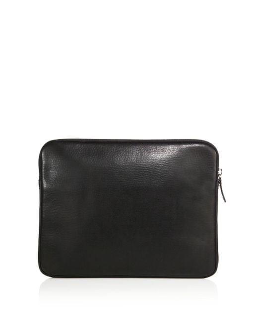 Shinola | Black Leather Portfolio for Men | Lyst