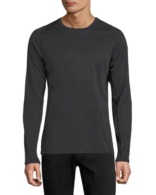J.Lindeberg | Black Active Long Sleeve Tee for Men | Lyst