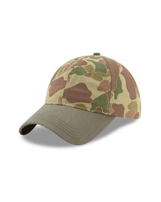 KTZ - Green Camouflage Cotton Baseball Cap for Men - Lyst