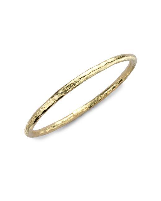 Ippolita - Metallic Glamazon 18k Yellow Gold #2 Bangle Bracelet - Lyst