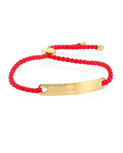 Monica Vinader   Multicolor Havana Friendship Bracelet/coral   Lyst