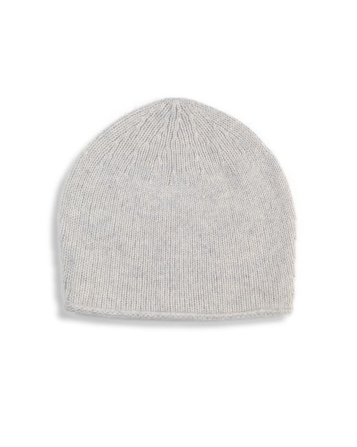 Saks Fifth Avenue - Gray Round Cashmere Beanie for Men - Lyst