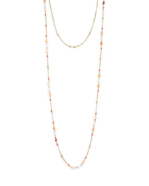 Chan Luu - Pink Double Layer Necklace - Lyst