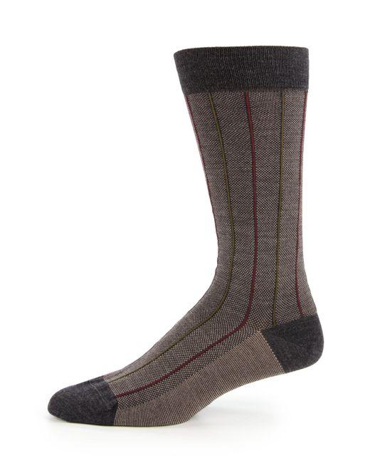 Pantherella - Gray Carrington Birdseye Socks for Men - Lyst