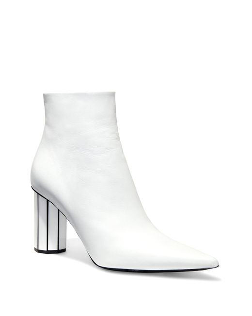Proenza Schouler - White Moji Leather Ankle Boots - Lyst