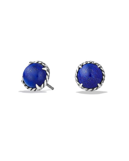David Yurman - Blue Châtelaine Earrings - Lyst