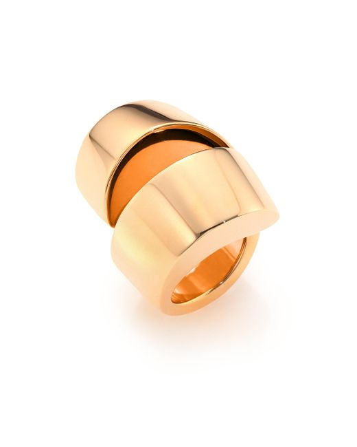 Vhernier - Pink Kiss 18k Rose Gold Ring - Lyst