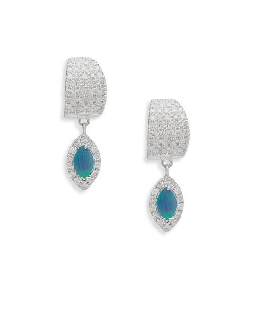 Meira T - Multicolor Diamond & Opal Drop Earrings - Lyst