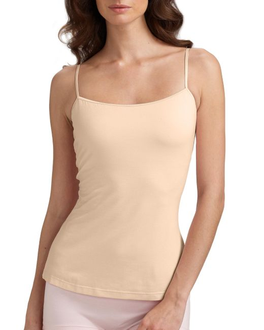 Cosabella - Natural Talco Long Camisole - Lyst