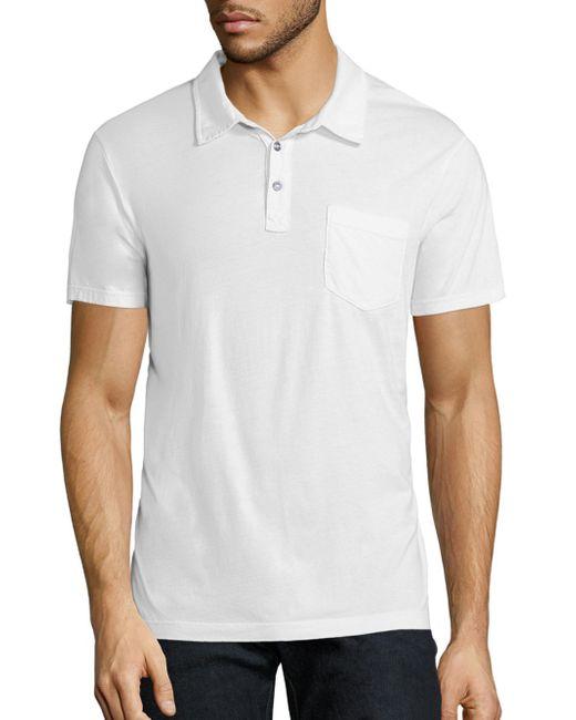Splendid Mills | White Cotton Polo Shirt for Men | Lyst