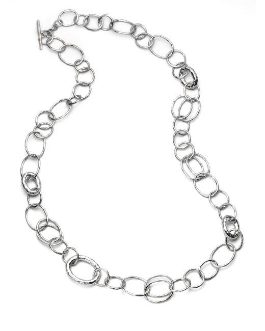 Ippolita - Metallic Glamazon Sterling Silver Bastille Element Link Chain Necklace - Lyst