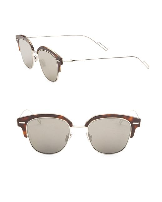 Dior - Brown Clubmaster Sunglasses for Men - Lyst